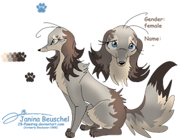 Dog-Character for my Friend Sonnenpelz by JB-Pawstep