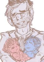 Grunkle's Babies Sketch by ToraTells