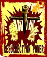 RESURRECTION POWER by vancegraphics