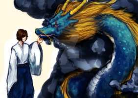 Basara- Two Dragons by Scarlet-Songstress