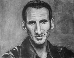 Doctor Who 9th Doctor (Christopher Eccleston) by JediBandicoot