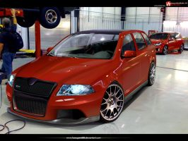 Skoda Octavia RS by hesoyam25