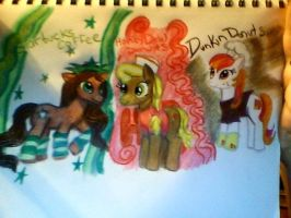 Coffee MLPs by mistresscarrie