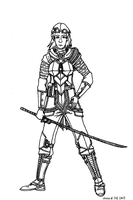 Lilithian Female Survivalist W.I.P. by Athalai-Haust