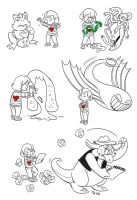 Undertale Encounters 4 by LynxGriffin