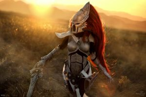 Dawn of War III - Eldar Howling Banshee by Narga-Lifestream