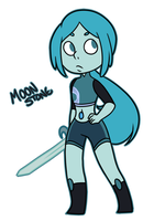 Steven Universe:: Moonstone by infinitehearts