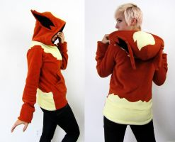 Evolution Fire Hoodie by Lisa-Lou-Who