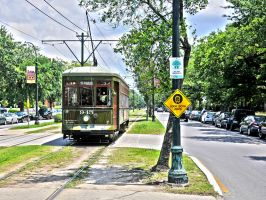 St. Charles Streetcar by NB-Photo
