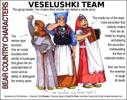 BC babushkas team by Umaken