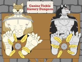Canine Tickle Slavery Dungeon by dlpeattie