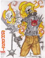 Ghost Rider by JoeyVazquez