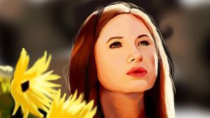 Amy Pond by clementine-petrova
