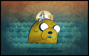The Marvelous Misadventures of Adventure Show by bangbangbazooka