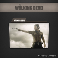 The Walking Dead Folder by paulodelvalle
