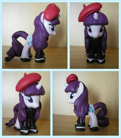 Sweet and Elite Rarity custom by LittleMissAntiSocial