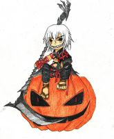 Happy Halloween Sayne :D by BlakkHeart