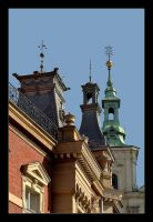 Roofs Of Cracow - 2 by skarzynscy