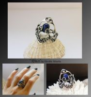 Rhan- wire wrapped ring by mea00