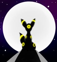 Umbreon by the Moon by Theoluma