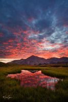 Collegiate Peaks Sunrise by jessespeer