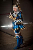 Monster Hunter - Zinogre Armor X-Rank by Elektra86