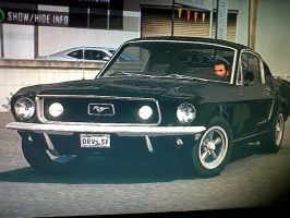 1967 ford mustang fast back by daz1200