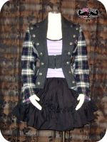 Romantic Rock jacket by funkyfunnybone