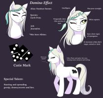 MLP OC Domino Effect by Nomidot