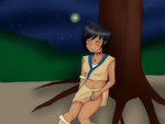 Under a tree .:commissionforblj141414:. by SerahRose