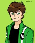 Ben10 with Omniverse's Hair by 4eknight11