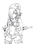 Worker Rosalina Lineart by megadaisy1