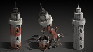 Lighthouse by ogami3d