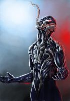Collaboration: Venom Redesign by Dark-thief