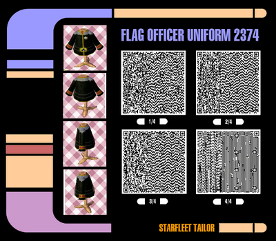 Flag Officer Uniform 2374 by PhantasmagoricRS