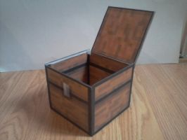 Minecraft chest open Coffre minecraft ouvert by adriz1k