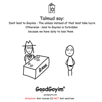 Dont lend to goyims by GoodGoyim-com