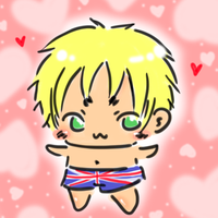 (Hetalia) UK : lovelovelove (UK) by Hyperkaoru13