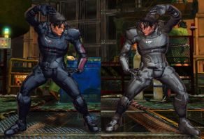 SFxT Mod - Commander Kazama by Segadordelinks