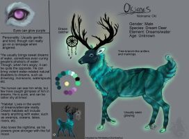 Okianos Ref by animalartist16