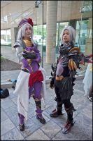 Haseo and Endrance by chilmarkgryphon
