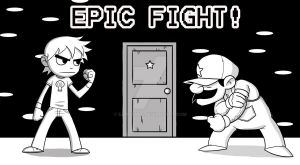 EPIC FIGHT INDEED by EadgeArt