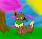 eevee by SageTheWolf001