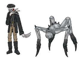 MR: Cold Man and Skulker by Azes13