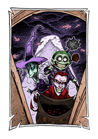 Halloween Town - Boogie's boys by Boredman