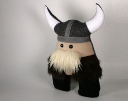 Kristoff the Kick-Butt Viking Plushie by Saint-Angel