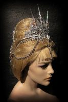 Angel's Wig with Crown by Minnu