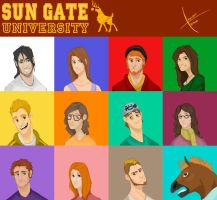 SGU Characters Sheet by o2xygeno