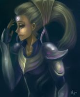 LoL - Diana, Scorn of the Moon by Maybe-He-Dreams