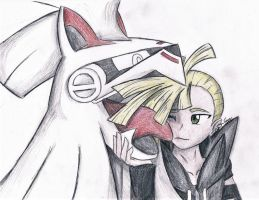 Gladion and Silvally by SageCamille